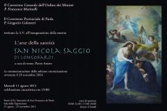 1) Invito mostra s.Nicola Saggio